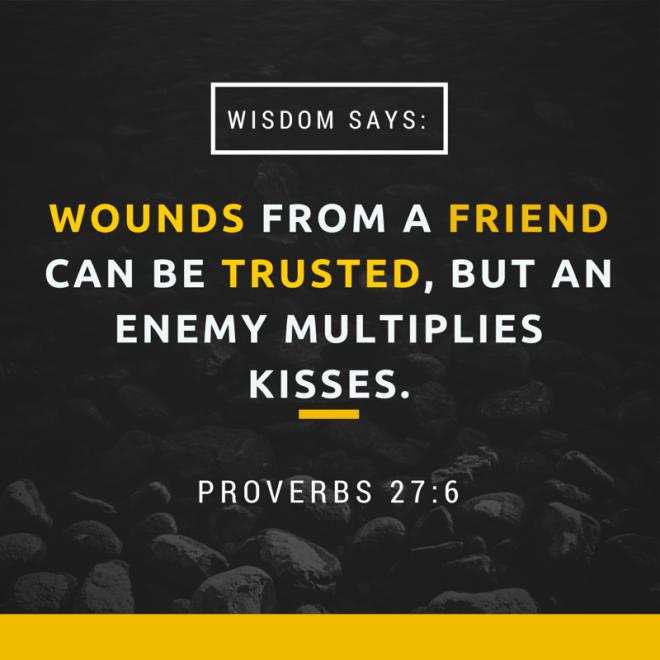 Proverbs 27 6